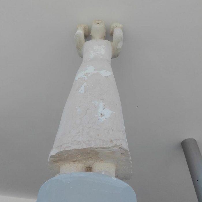 Η «Καρυάτιδα» - Μουσείο Κώστα Αργυρού